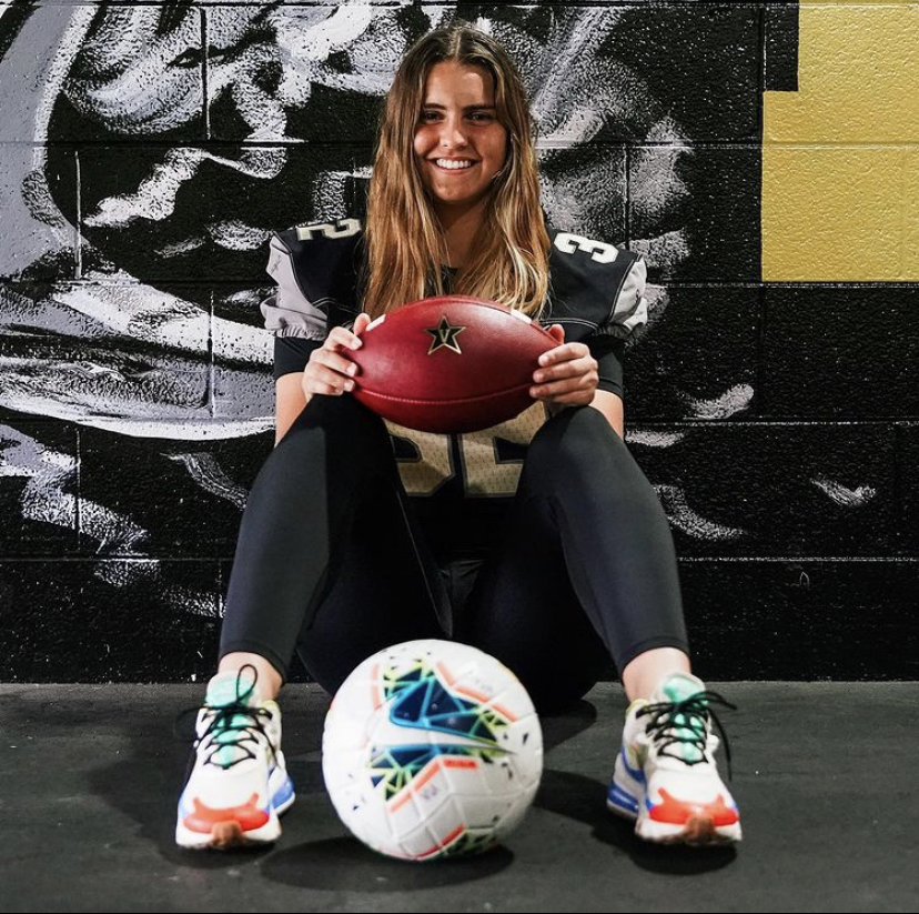Sarah Fuller makes history on the Vanderbilt football team.