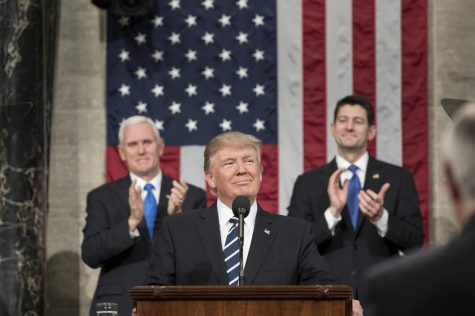 President Trump's first State of the Union address.