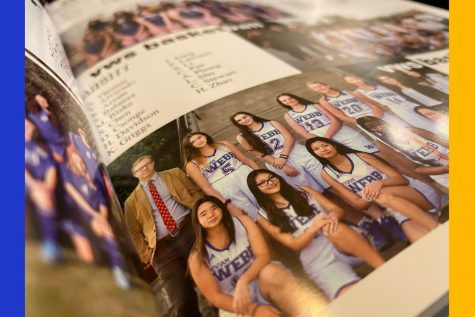 Photo of the VWS Junior Varsity Basketball Team taken from the El Espejo 2019-2020 yearbook.