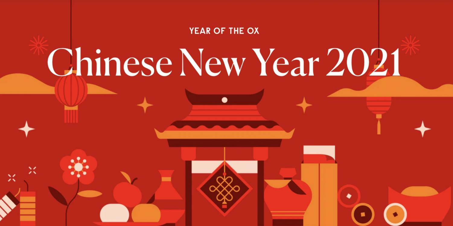 Chinese New Year 2021 is the year of the ox.
