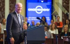 Biden at a White House event during his time as vice president with Obama. He has had many years of experience as a politician before running for president, leading to a greater foundation for his current role.