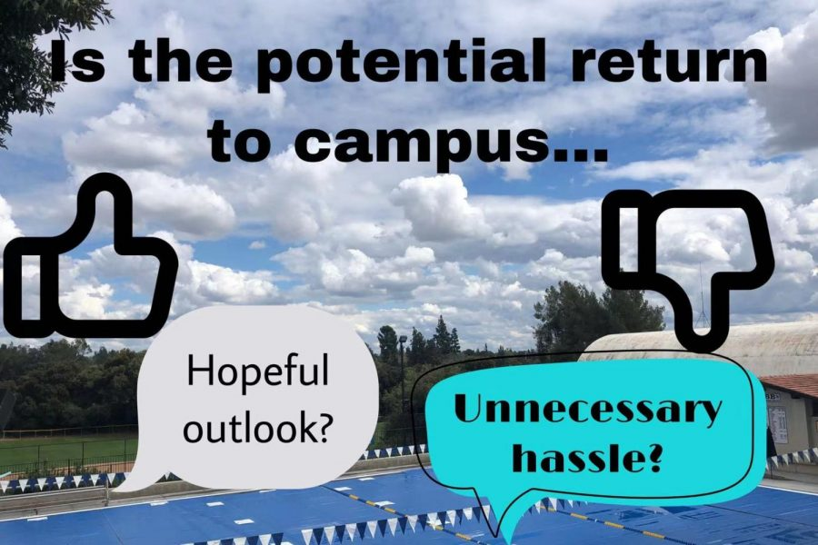 While some believe that returning to campus this spring is hopeful outlook, others find it unnecessary hassle.