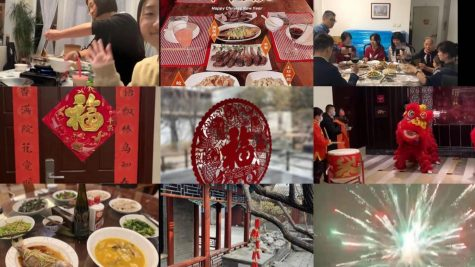 With online learning,  Chinese students unite with family members and spend Lunar New Year at home.