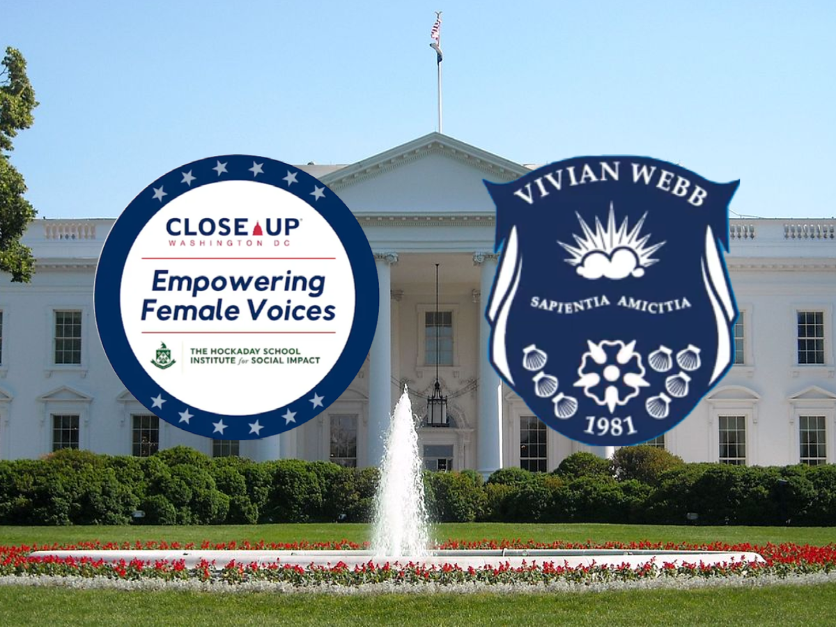 The 2021 Empowering Female Voices program involves groups of students creating policy proposals for the new Biden administration's first 100 days, in honor of the 100th anniversary of women's suffrage.