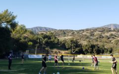 Webbies participate in on campus soccer practices located on Chandler Field.