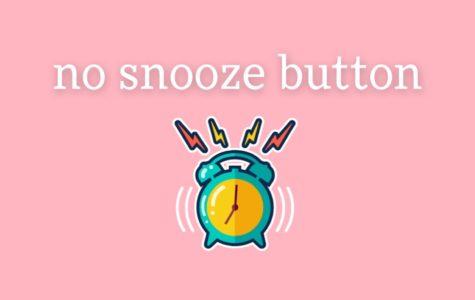 Do not press snooze!