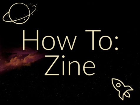 Making your own zine is an easy way to be creative, share your passions, and spread ideas!