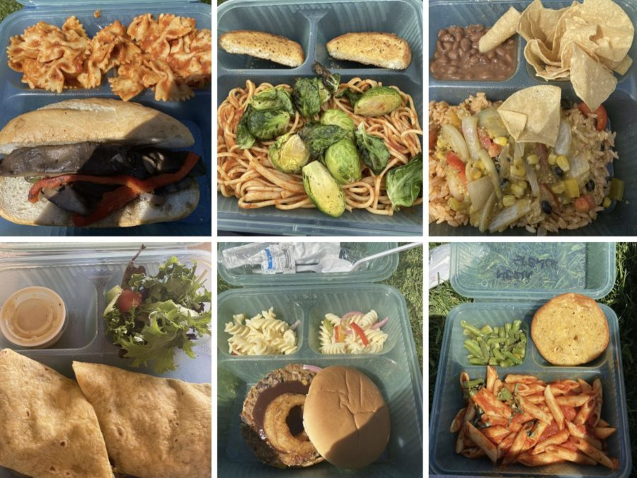 Webb students enjoy a variety of tasty meals on-campus.