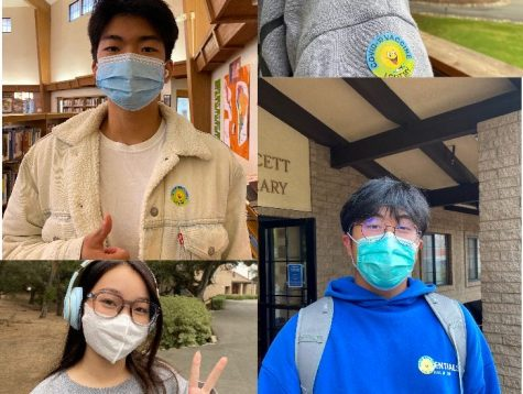 A collage of newly-vaccinated Webb students. Credit: Heloise Robertson (23)